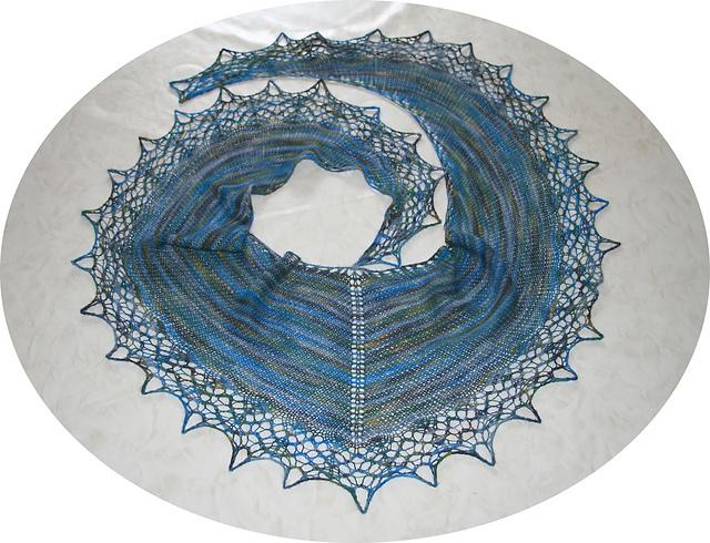 Tuch Shawl Landzauber By Birgit Freyer Heike S Blog